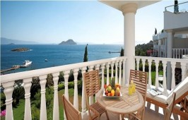 Superb sea views from your balcony