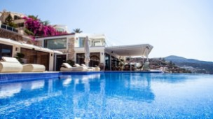 Kalkan sea view villa for sale
