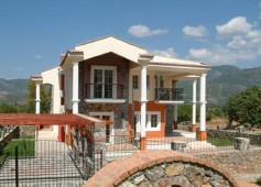 Modern Uzumlu villa in Turkey for sale