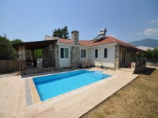 Private pool bungalow for sale in Uzumlu