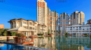 Waterfront apartment in Bursa for sale