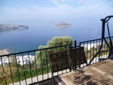 Balcony view over the islands