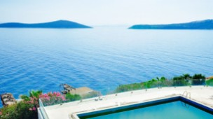 Beachfront villa in Gundogan Bodrum priced to sell