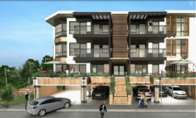 Modern homes in Yalova